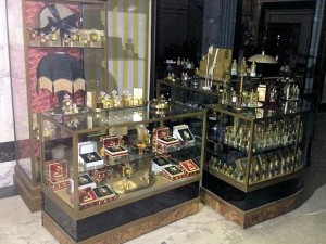 Selfridge - shop display cabinets