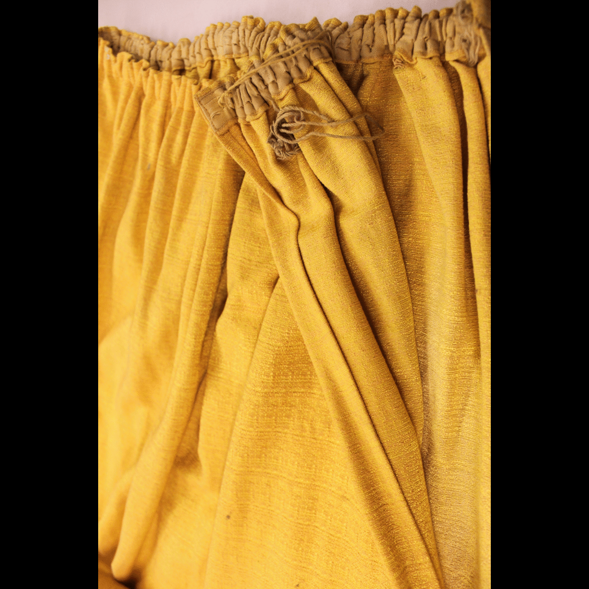0040064 (134.) Yellow Curtains X1 pair (230cm wide by 220cm drop ... for Yellow Curtains Png  183qdu