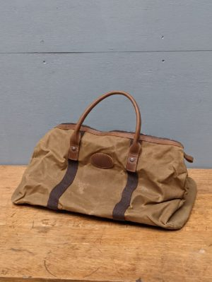 holdall brown leather