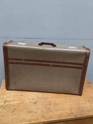 suitcase brown vintage