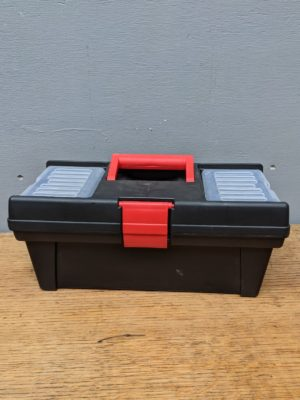 tool box black plastic hire