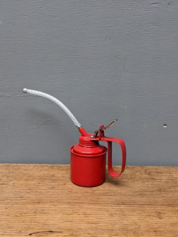 oil can red metal
